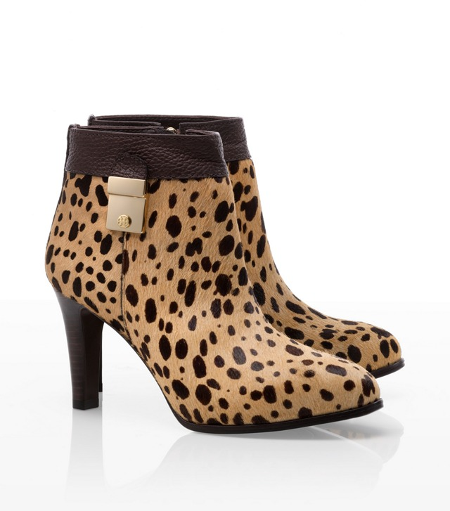 Haircalf Printed Priscilla Bootie