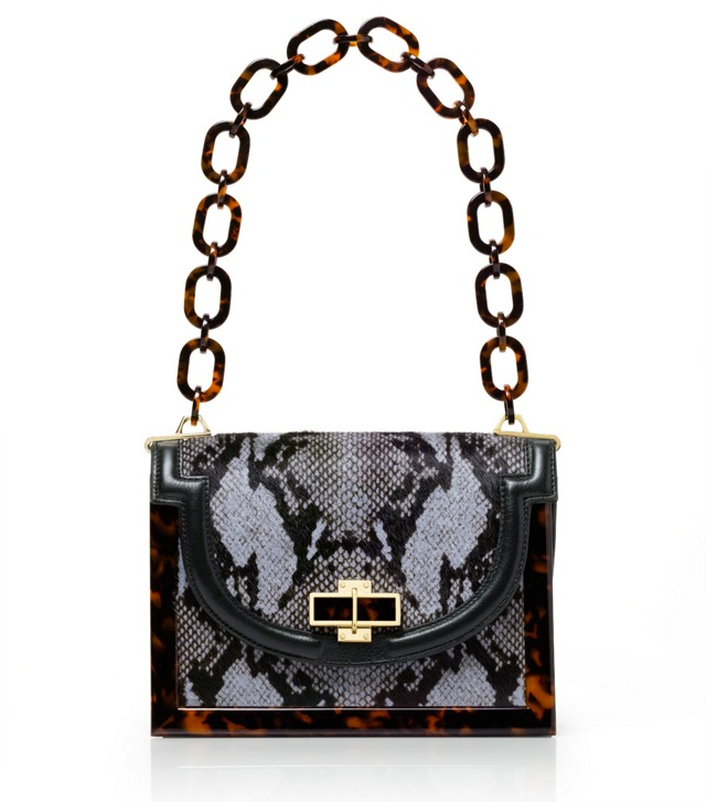 Haircalf Snake Small Resin Frame Bag