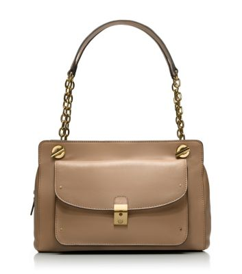 Almond Tory Burch Priscilla Shoulder Bag