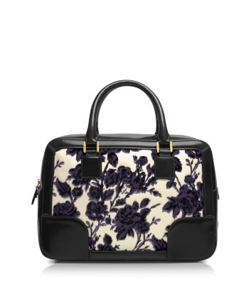 Tory Burch Floral Briefcase