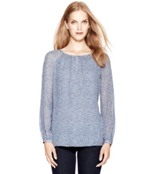 Raindrop Dunraven-  Tory Burch Lisa Top