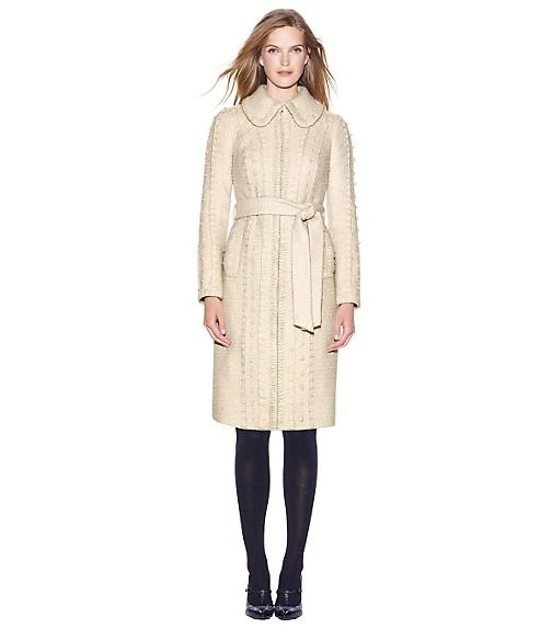 KELSEY SPARKLE BOUCLÉ TWEED COAT
