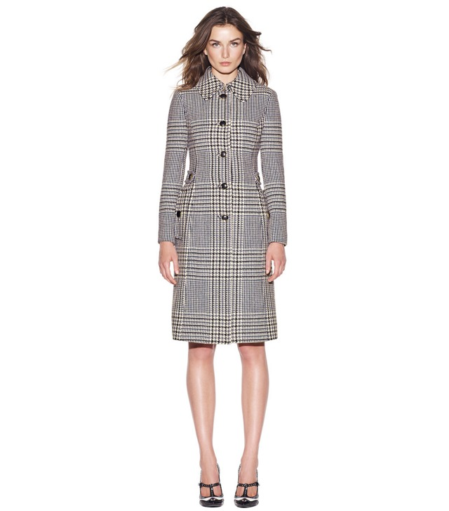 VIRGINIA GLEN PLAID COAT