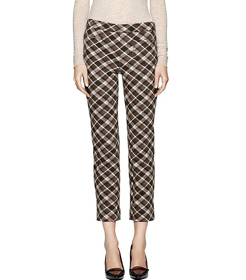 THERESA WOOL PLAID PANT