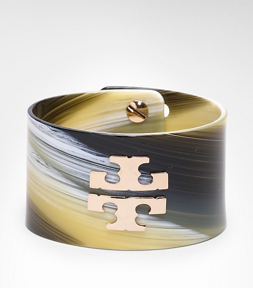 LOGO WIDE RESIN CUFF