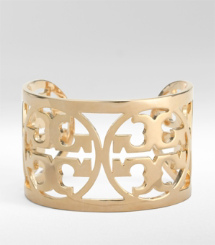 CURVED LOGO BRACELET | GOLD | 710