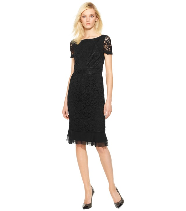 BOVARY LACE SHEATH DRESS