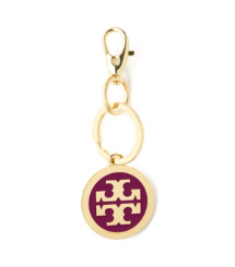 Tory Burch Heirloom Enamel Logo Pendant Keyfob