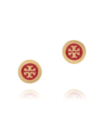 Lobster Tory Burch Enamel Stud Earring