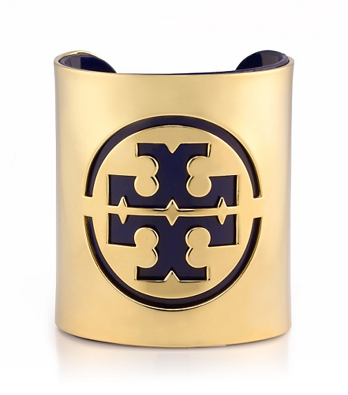 PATENT LEATHER STENCIL LOGO CUFF