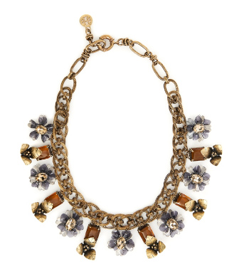 Tory Burch Multi-floral Necklace