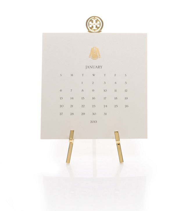Tory Desk Calendar with Stand
