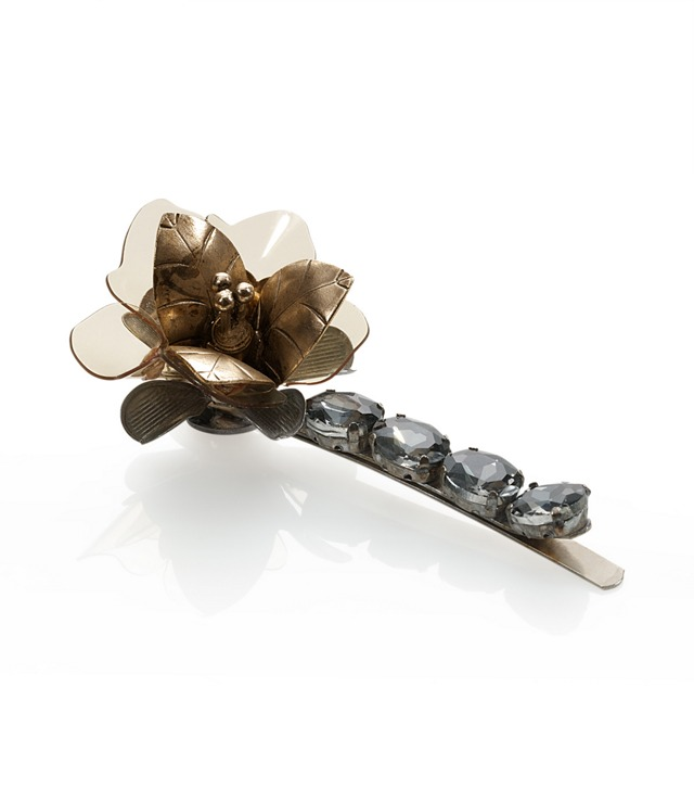 SMALL FLORAL HAIR PIN