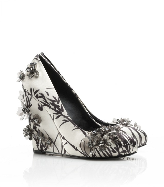 Printed Pixie Wedge