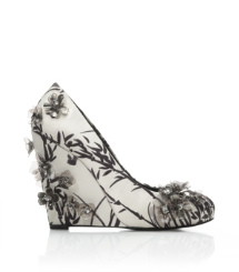 PIXIE 120mm WEDGE-PRINTED MATTE SATIN | CLANCY A | 995