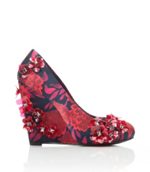 PIXIE 120mm WEDGE-PRINTED MATTE SATIN | ELMIRA A | 996