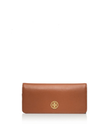 Luggage/french Rose Tory Burch Robinson Geldbörse Mit Frontklappe