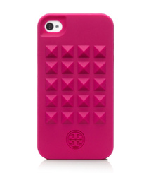 Tory Burch Pyramid Stud Silicone Case For Iphone 4