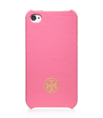 Tory Burch Robinson Saffiano Hardshell Case For Iphone 4