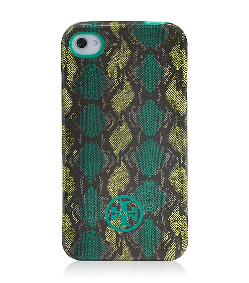 Tory Burch Pop Snake Soft Phone Case