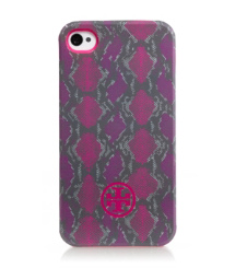 Tory Burch Pop Snake Soft Phone Case For Iphone 4