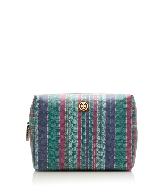 Baja Stripe Large Brigitte Cosmetic Case