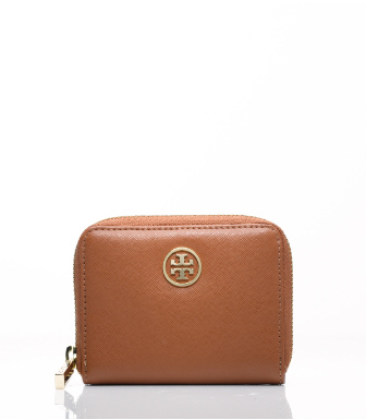 Tory Burch Robinson Zip Coin Case