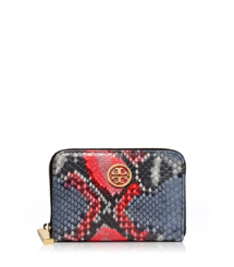 Tory Burch Violet Zip Coin Case