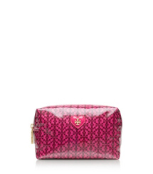 "Tory Burch Heart ""t"" Jacquard Brigitte Cosmetic Case"