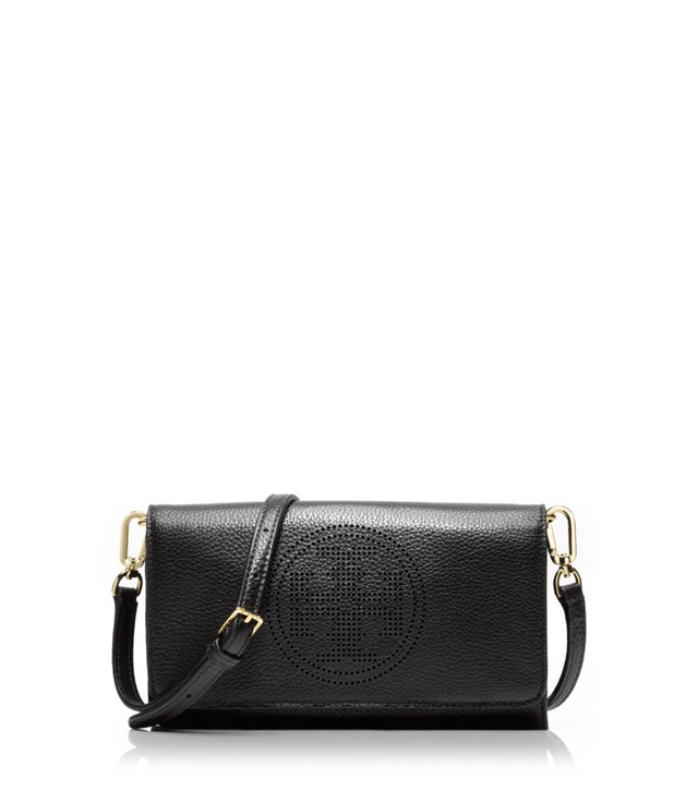 Perforated Logo Small Clutch