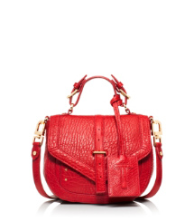 French Red Tory Burch 797 Crossbody Pouch