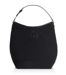 Tory Burch Stacked Logo Hobo