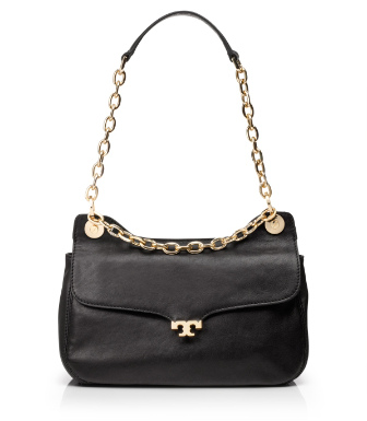 Black Tory Burch Megan Small Shoulder Bag