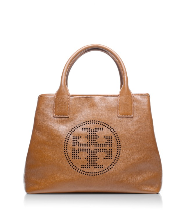 Small Perforated Logo Tote