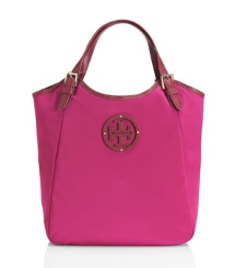 Tory Burch Small Slouchy Stacked Logo Tote