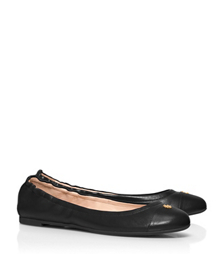 Black Tory Burch York Ballet Flat