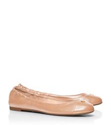 Camellia Pink Tory Burch York Ballet Flat