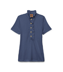 Med.navy Tory Burch Lidia Polo-hemd