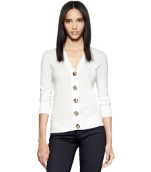 Tory Burch Cotton Simone Cardigan