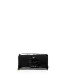 PATENT LEATHER CONTINENTAL WALLET