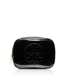 Tory Burch Patent Medium Cosmetic Case