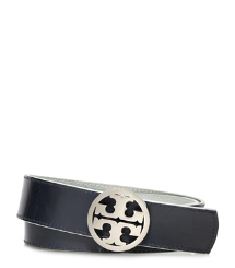 METALLIC REVERSIBLE LOGO BELT