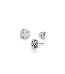 "LARGE ""T"" LOGO STUD EARRING"