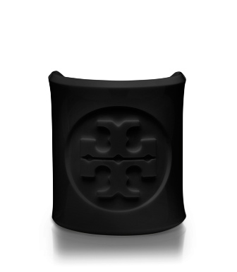 Black Tory Burch Lucite Cuff