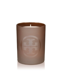 Brown Tory Burch Signature Tory Candle