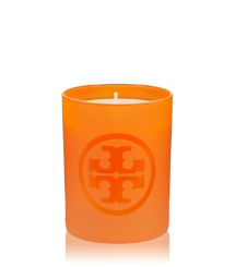 Orange Tory Burch Signature Tory Candle
