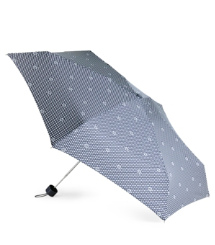 Luxe T - Navy Tory Burch Mini Umbrella
