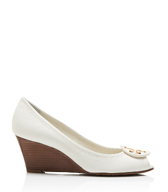 Tory Burch Tumbled Leather Sally 2 Wedge