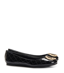 Tory Burch Quinn Quilted Flat, Extended Width