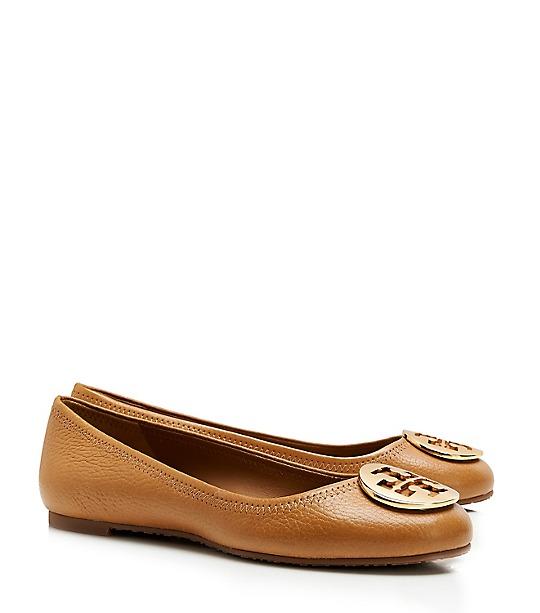 Reva Tumbled Leather Ballet Flat Women S Flats